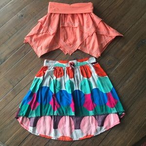 Size 5/6 & 6/7 Gap Kids and Crazy 8 skirts